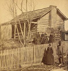 What a neat picture. I love thinking of who lived and worked in our cabin long ago. The original rooms were a trading post in Tennessee mid Vintage Pictures, Old Pictures, Old Photos, Old Cabins, Cabins In The Woods, Louisiana, Into The West, Oregon Trail, Le Far West