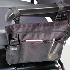 arm tote for wheelchair