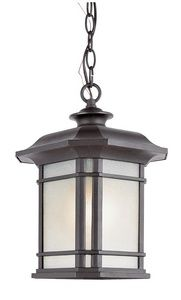 CanadaLighting | Corner Window - One Light Outdoor Hanging Lantern $131