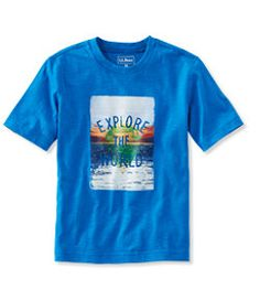 #LLBean: Boys' Graphic Tee, Short-Sleeve