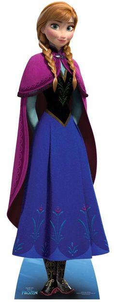 Starstills.com - Anna from Frozen Disney Cardboard Cutout / Standee, £29.99 (http://www.starstills.com/anna-from-frozen-disney-cardboard-cutout-standee/)