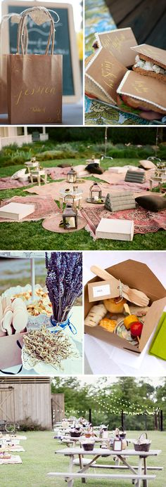picnic wedding (The Bridal Bar)