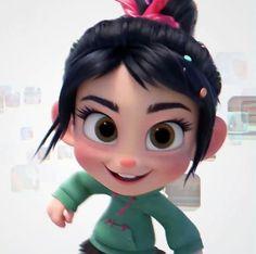Stop being so cute vanellope! I can't get enough of her cuteness! Cute Disney Wallpaper, Cute Cartoon Wallpapers, Cartoon Icons, Cartoon Art, Disney Pictures, Some Pictures, Vanellope Y Ralph, Disney Queens, Kawaii Disney