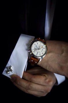 Love the cufflinks...