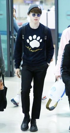 Bangtan Boys (BTS) Fashion on Pinterest | Incheon Airports and Kpop