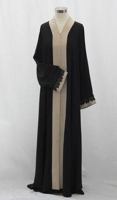 Vintage Linen Lace Abaya