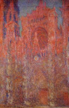 CLAUDE MONET — Rouen Cathedral, 1894 Claude Monet