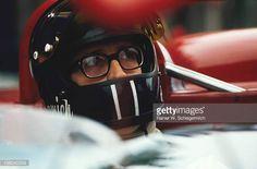 Andrea de Adamich with glasses 1000 km Monza 1971 Monza Italy 25 April 1971