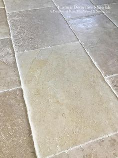 Marie Antoinette Aged French Limestone Flooring - Historic Decorative Materials, a division of Pavé Tile, Wood & Stone, Inc. Marie Antoinette, Reclaimed Oak Flooring, Paver Walkway, Pool Pavers, Concrete Walkway, Limestone Flooring, Limestone Patio, Travertine Pavers, Tile Flooring