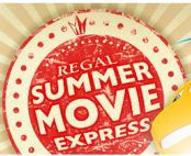Regal Cinemas is bringing back their popular $1 Summer Movie Express program. Each Tuesday and Wednesday at 10 am, you can see a family-friendly movie for just $1.