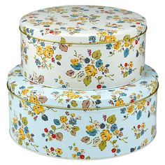 Set of 2 Woodland Rose Cake Tins | Bakeware | CathKidston