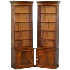 Victorian Bookcases, Victorian Books, Narrow Bookshelf, Room Furniture Design, Wardrobes, Cupboard, Tall Cabinet Storage, How To Look Better, Kitchen Cabinets