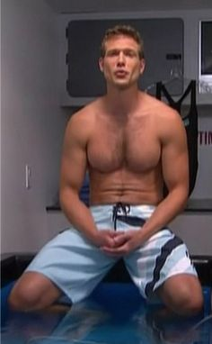 Dr. Travis Stork, too cute, from the doctors show