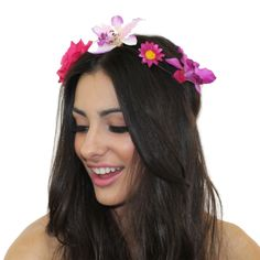 Queen of Orchids Flower Crown — Kristin Perry: Accessories