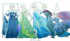 Elsa the Snow Queen - Frozen (Disney) - Image - Zerochan Anime Image Board Estilo Disney, Arte Disney, Disney Fan Art, Disney Love, Disney Magic, Frozen Art, Elsa Frozen, Disney Frozen, Disney And Dreamworks