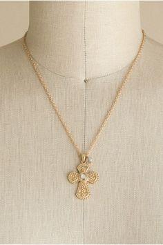 Delicate Cross Necklace   shopgofish.com