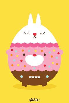 easter eggg bunnie