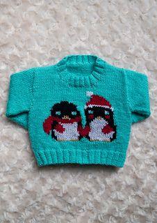 1133c0e43 penguin knitting pattern children jumper · http   www.ravelry.com patterns  library instarsia-