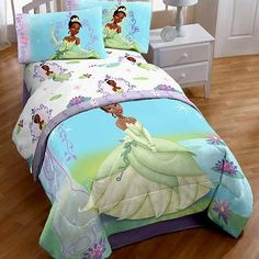 """Princess and the Frog Twin/Full Washable Light-Up Comforter by Disney. $41.73. Filling: 100% Polyester fiber. Measures: 86""""L x 71"""" W (218cm x 180cm). Outer Cover: 60% Cotton - 40% Polyester. Blinking Lights motion-sensitive light-up feature. Not for use for children under the age of 3 years. Watch your little princess light-up as she imagines herself a Princess for a day with this Princess and the Frog Twin/Full Washable light-Up Comforter!"""