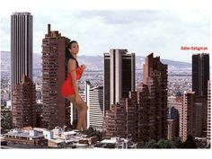 Bogota chica de rojo South America, San Francisco Skyline, Places Ive Been, Ocean, Country, City, Travel, Beautiful, Geek