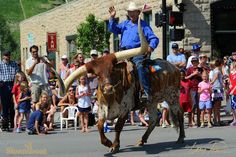 4th of July parade in Steamboat Springs, Colorado
