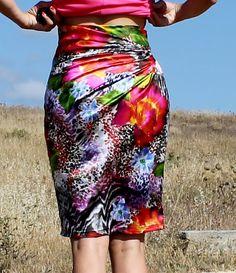 Starburst skirt