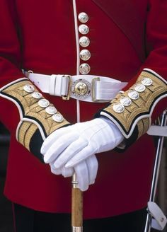 Well, we all love a man in uniform. Especially those smart chaps on Whitehall. (Uniform of the Welsh Guards)