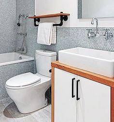 20 idéias para  #banheiro pequeno com #banheira  Vai ver lá no#SimplesDecoracao ! Link no perfil #banheirocombanheira #banheiropequeno