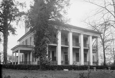 [This beautiful mansion in Marengo county has a long history that includes visitors and residents who were vital to the beginning days of Alabama. I'm glad Marengo County historical society restored it.] Bluff Hall also known as Lyon-Smith House Bluff ... Read More