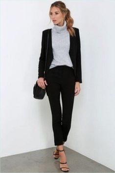 38 Business Casual Hairstyles for Women 2019 To truly feel beautiful on your office day is essent. - 38 Business Casual Hairstyles for Women 2019 To truly feel beautiful on your office day is essential that Business Professional Outfits, Casual Professional, Business Outfit, Business Casual Outfits, Casual Winter Outfits, Business Fashion, Corporate Outfits For Women, Job Interview Outfits For Women, Interview Attire