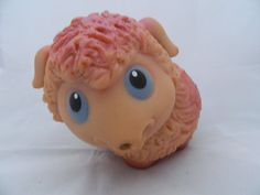 Lovely vintage rubber lamb from USSR  soviet toy  by RETROisIN, $9.00