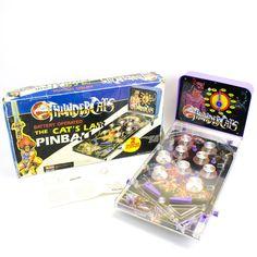 Vintage Tabletop Electronic Thundercats Arcade Pinball Game, 1985, Boxed