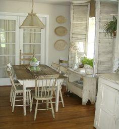 Me gusta el estilo de la mesa, ¿lo conseguiré lijando y/o pintando la que tenemos?