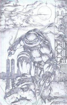 TMNT Raphael 2 by ~emilcabaltierra on deviantART