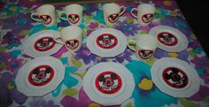 1977 Mickey Mouse Club Vintage Children's Play Tea Set