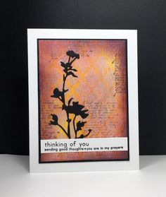 dylusion ink sprays, stencil, perfect pearls, sponging, wildflowers die: Tim Holtz, by beesmom at splitcoast