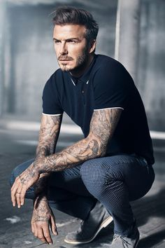 David Beckham Strips Down to His Underwear for New H&M Campaign  #InStyle