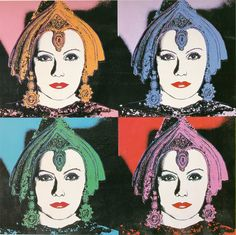 Andy Warhol, Myths, The Star, 1981 ART More At FOSTERGINGER @ Pinterest
