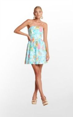 Lilly Pulitzer Lottie Dress. I could live in this dress!