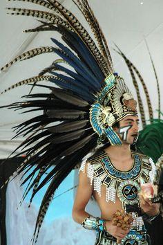 Aztec dancer at the Ganondagan Seneca Settlement