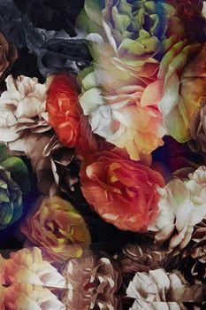 Ted Baker London Technicolour Bloom Long Silk Scarf