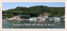 Grider Hill Marina & Resort - Lake Cumberland Kentucky