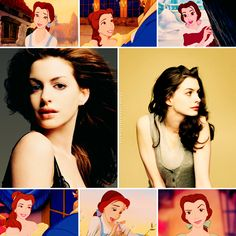 Disney Dreamcast   Anne Hathaway as Belle