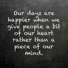 Although yesterday I gave a piece of my broken heart it felt good, but my mind felt bad.... :(