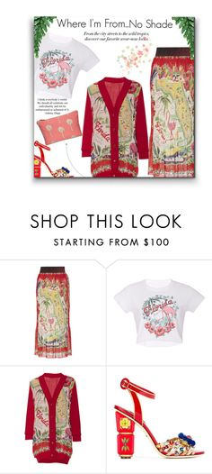 """""""Where I'm From, Florida"""" by sherieme ❤ liked on Polyvore featuring BCBGMAXAZRIA, Anna Sui and Dolce&Gabbana"""