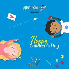 """""""Every Child is an Artist """" Give a chance to prove it! Globalart Irumpanam wishes a very happy Children's Day to all the kids in the world. Happy Children's Day, Child Day, Kochi, Global Art, Imagination, Wish, Creativity, Drawings, Artist"""