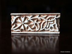 Hand Carved Indian Wood Textile Stamp Block by charancreations, $10.00