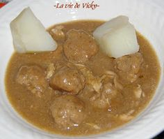 Ma petite vie!: Ragoût de boulette porc et poulet