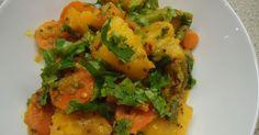 Assalamu alaikum wa rahmatullahi wa barakatuhu! This recipe is for Bombay Vegetables. You can add any vegetables that you like, and it is...