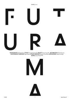 Typography by Studio Hostel based in Sao Paulo, Brazil.